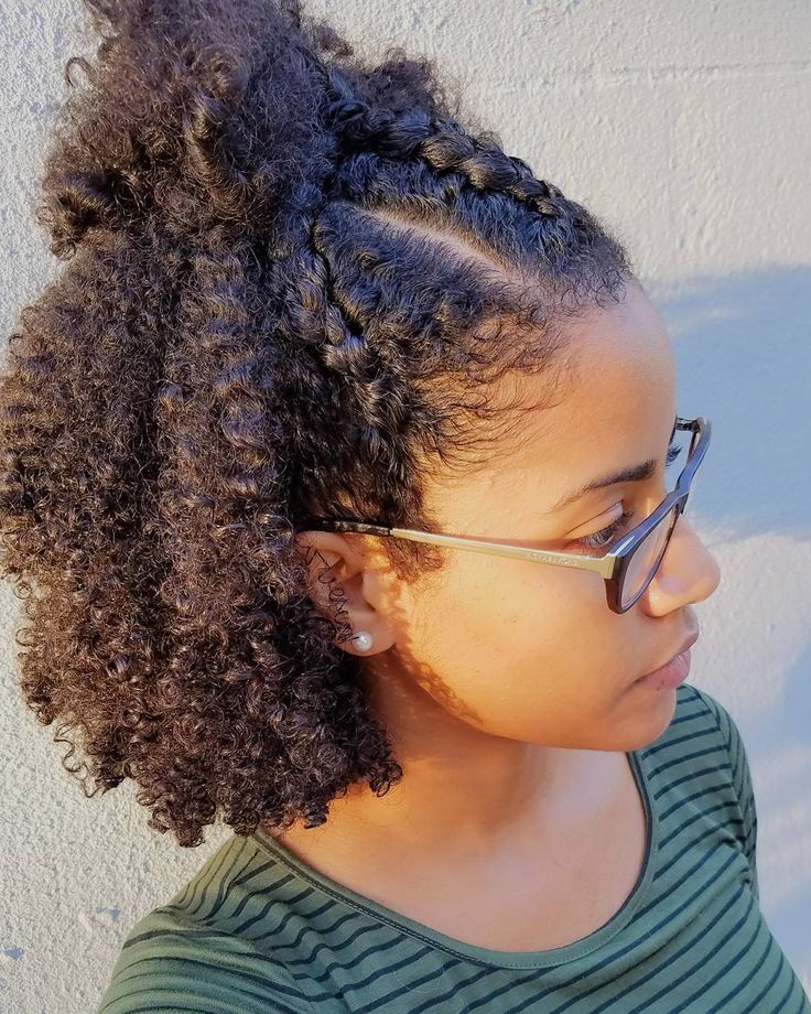 35 Natural Hairstyles To Glam Up Your Look Haircuts Hairstyles 2019