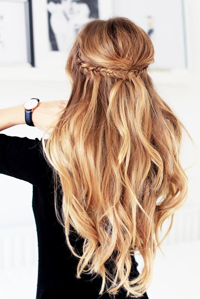 Christmas Hairstyles For Long Hair.30 Christmas Party Hairstyles To Enhance Your Look