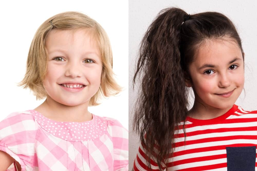 Hair Texture and Type Consideration Styling for Little Girl's Hair
