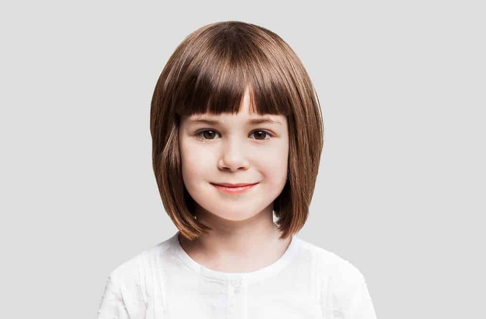 Hairstyle Ideas for Little Girls with Square Faces