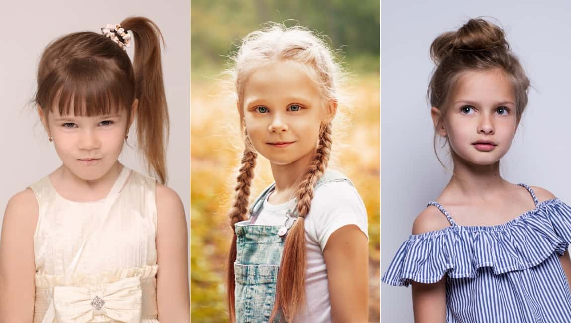 Hairstyling for for Little Girls