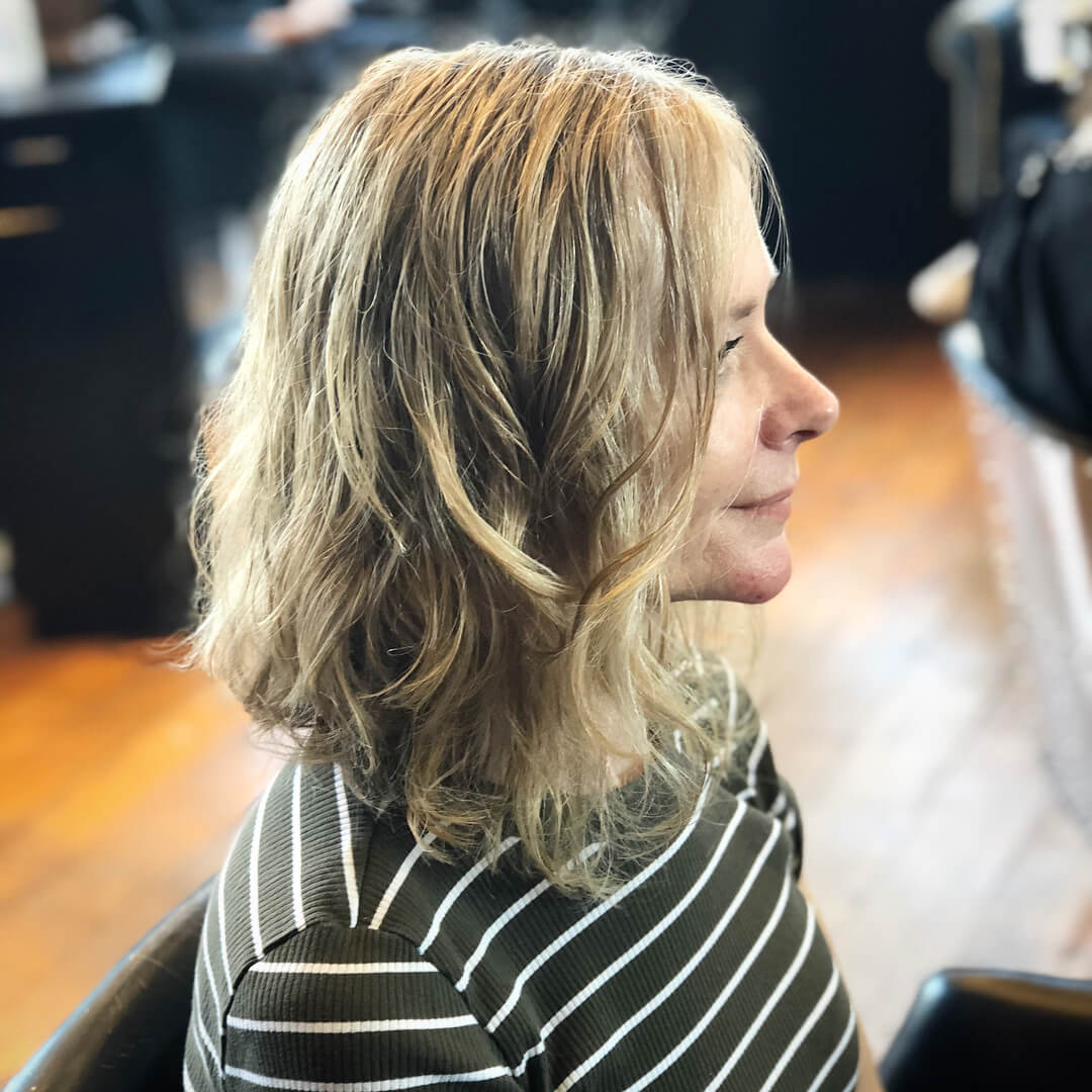 Long Layered Bob