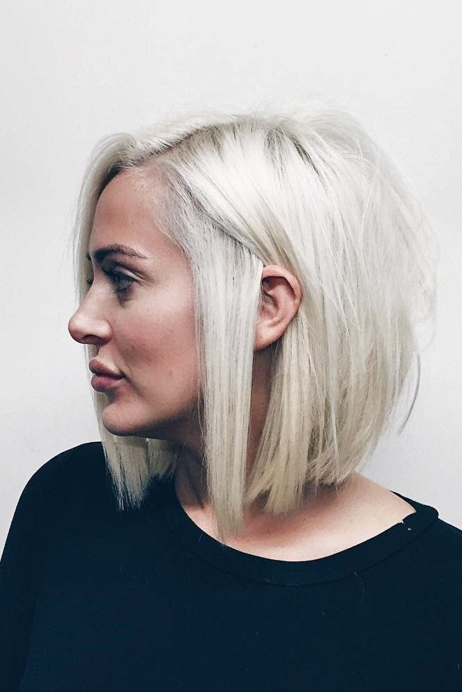 Short Side Part Hairstyle