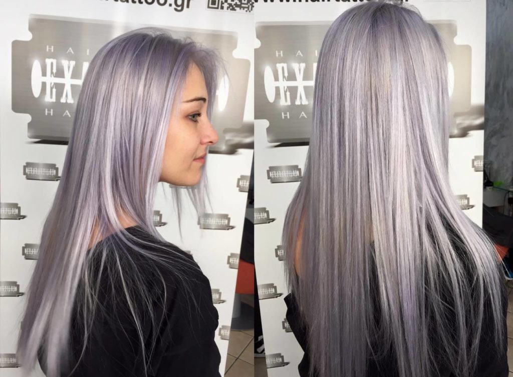 Silver Hairstyles