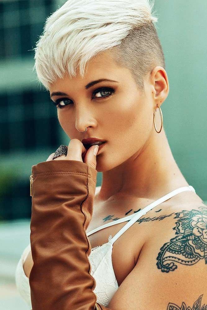 25 Fade Haircuts For Women Go Glam With Short Trendy Hairstyles