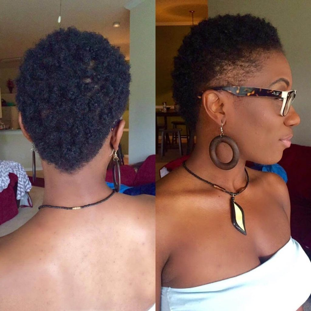 25 fade haircuts for women- go glam with short trendy