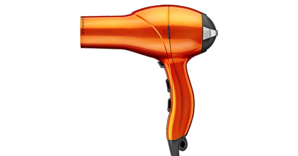 Infinitipro by Conair 1875 Watt Salon Performance Ac Motor Styling Tool Hair Dryer, Orange