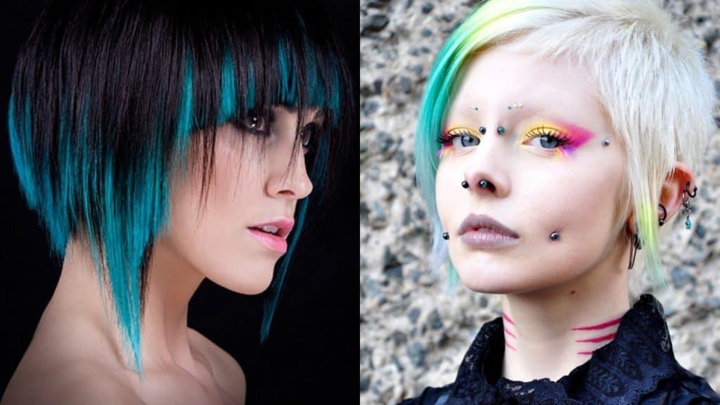 Cyberpunk Haircuts