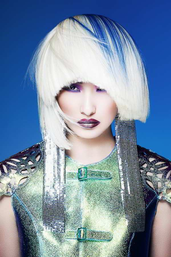 cyberpunk haircuts  bold  beautiful divas