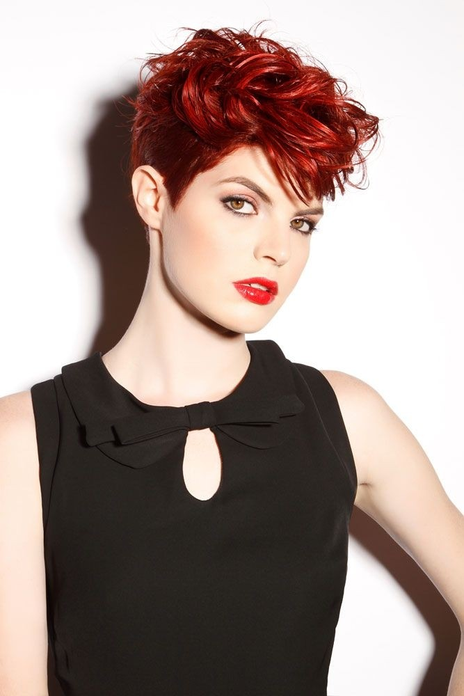 Female Hairstyles for Short Hair
