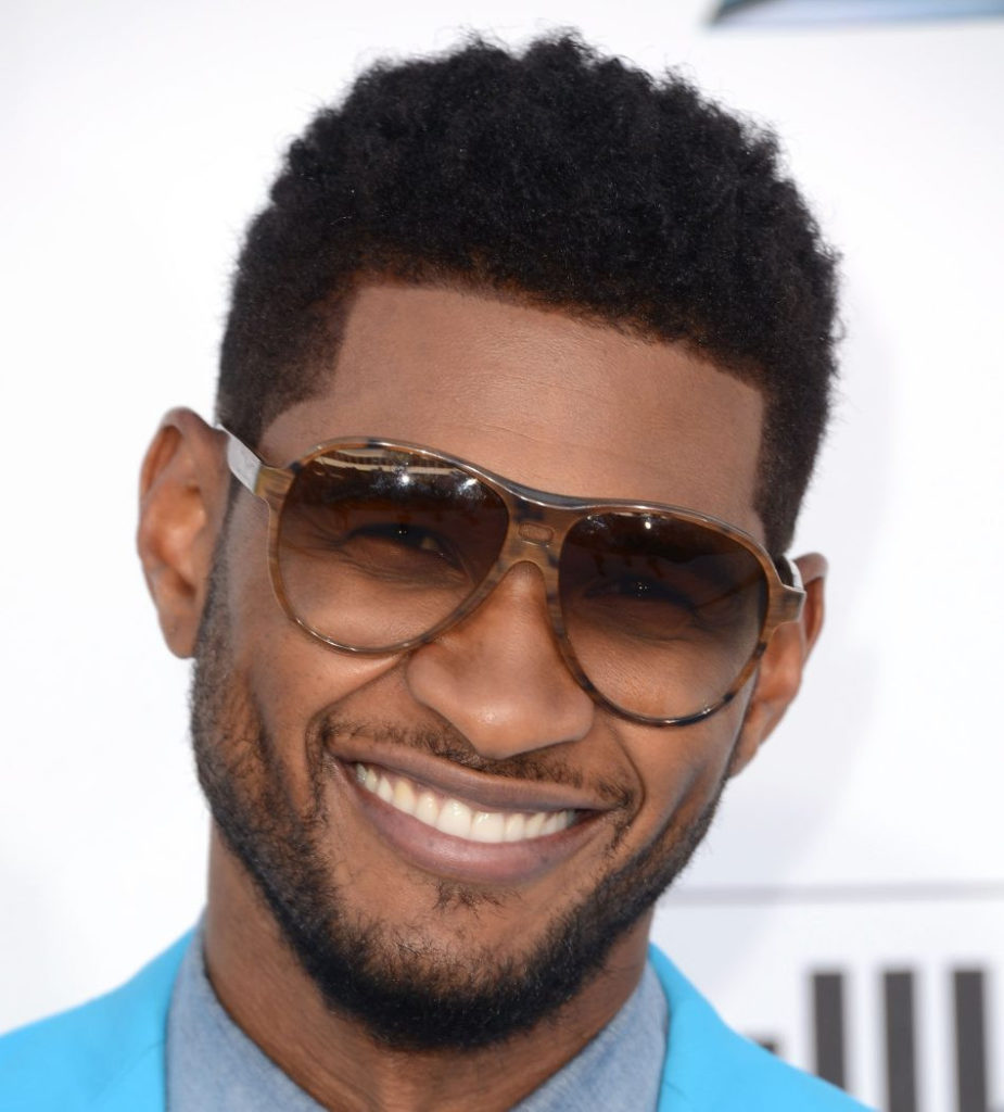 usher fade hairstyle New South France Haircut