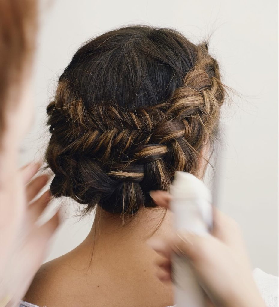 Wedding Hairstyles For Medium Thin Hair: 21 Most Outstanding Braided Wedding Hairstyles