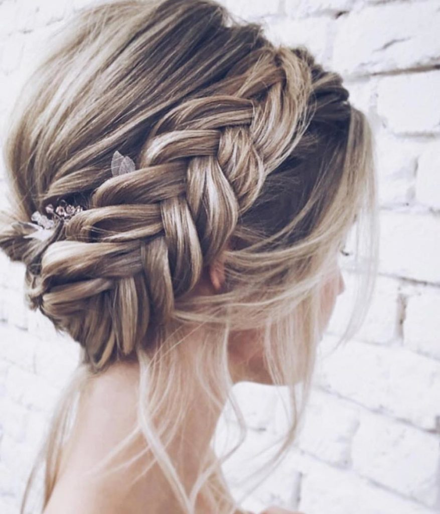 Braids Wedding Hairstyles: 21 Most Outstanding Braided Wedding Hairstyles