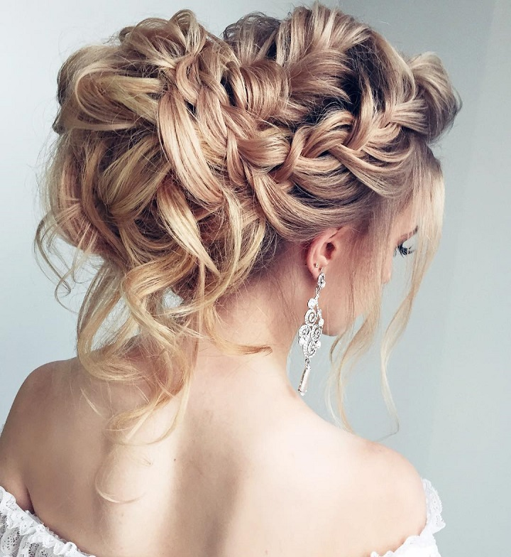 Braid Hairstyles For Wedding Party