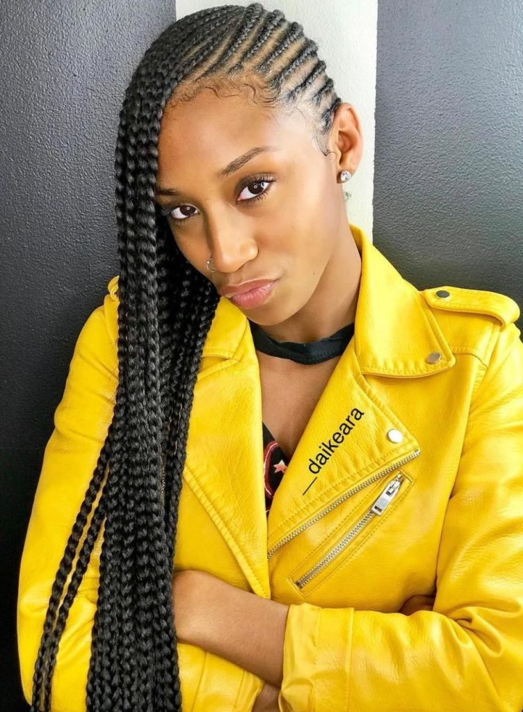 25 Charming Lemonade Braids to Rock Your Appearance - Haircuts & Hairstyles 2019