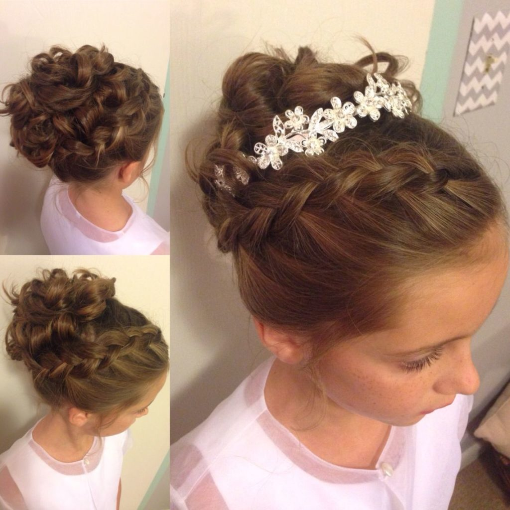 25 Most Charming Bridesmaid Hairstyles For Long Hair: 25 Cute And Charming Little Girl Updos