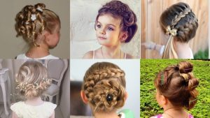 25 Cute and Charming Little Girl Updos