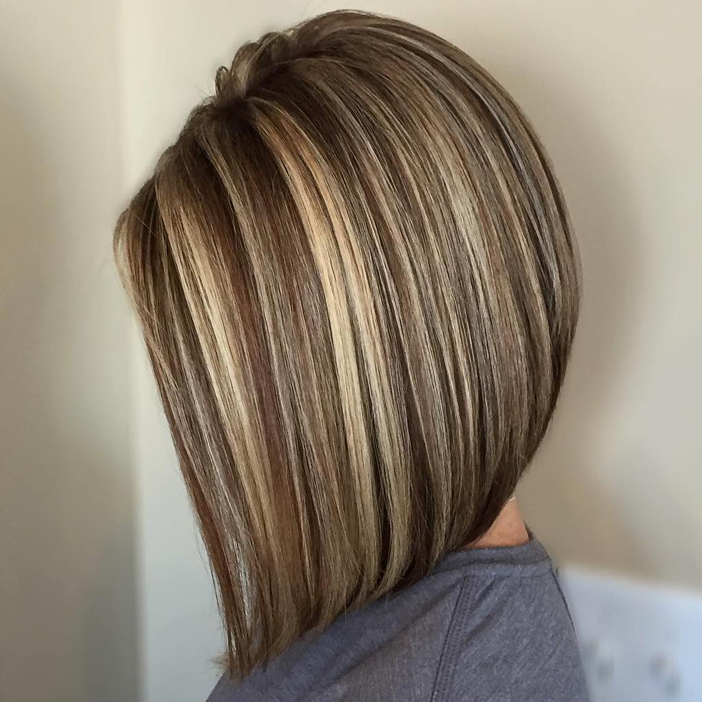 30 Latest And Exclusive Lowlights For Brown Hair Haircuts