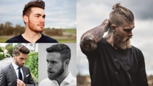 24 Ultra Modern Short Hairstyles with Beard