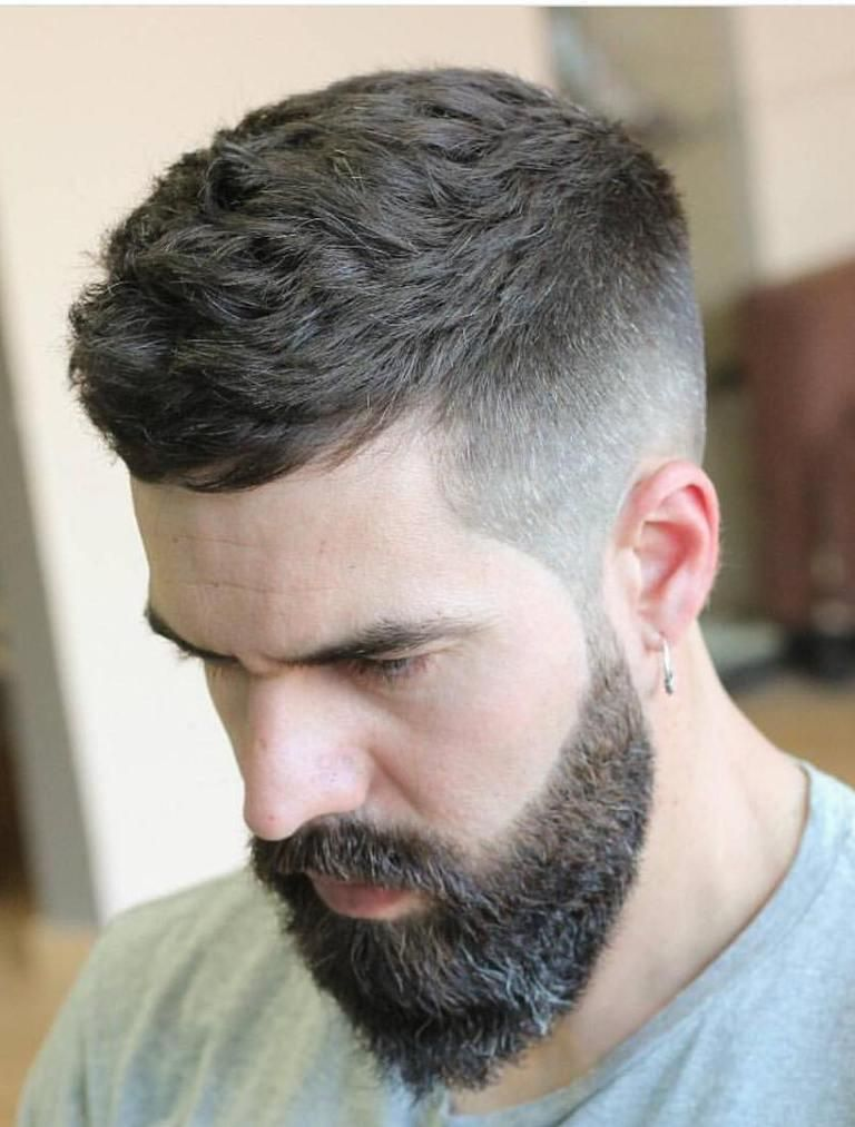 24 Ultra Modern Short Hairstyles With Beard Haircuts