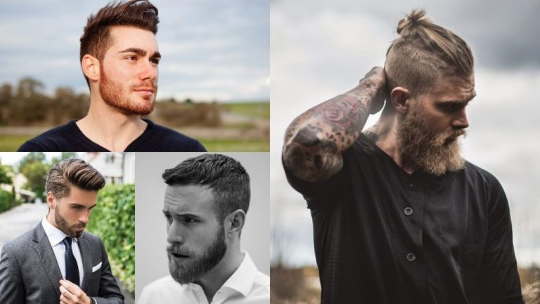 Hairstyles with Beard