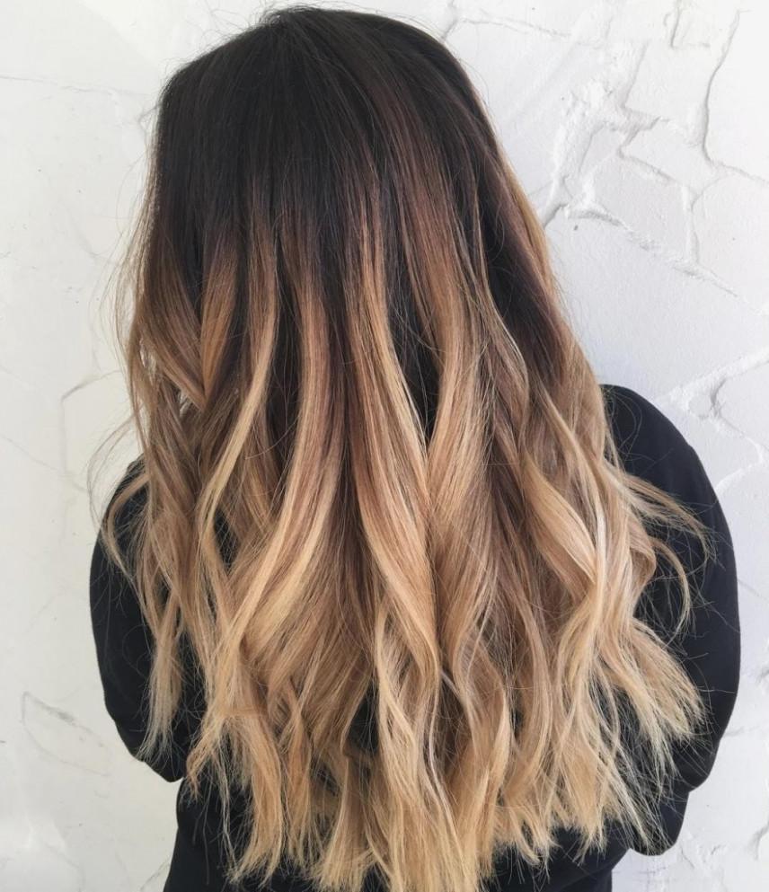 Haare Unten Blond