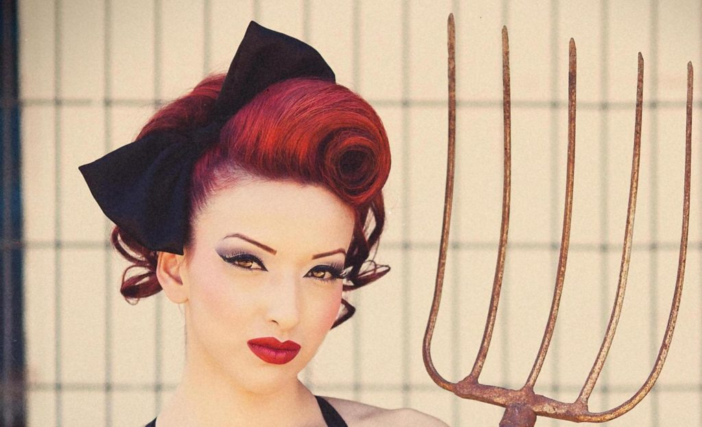 Pin Up Hairstyles