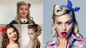 21 Pin Up Hairstyles for an Ultimate Vintage Look