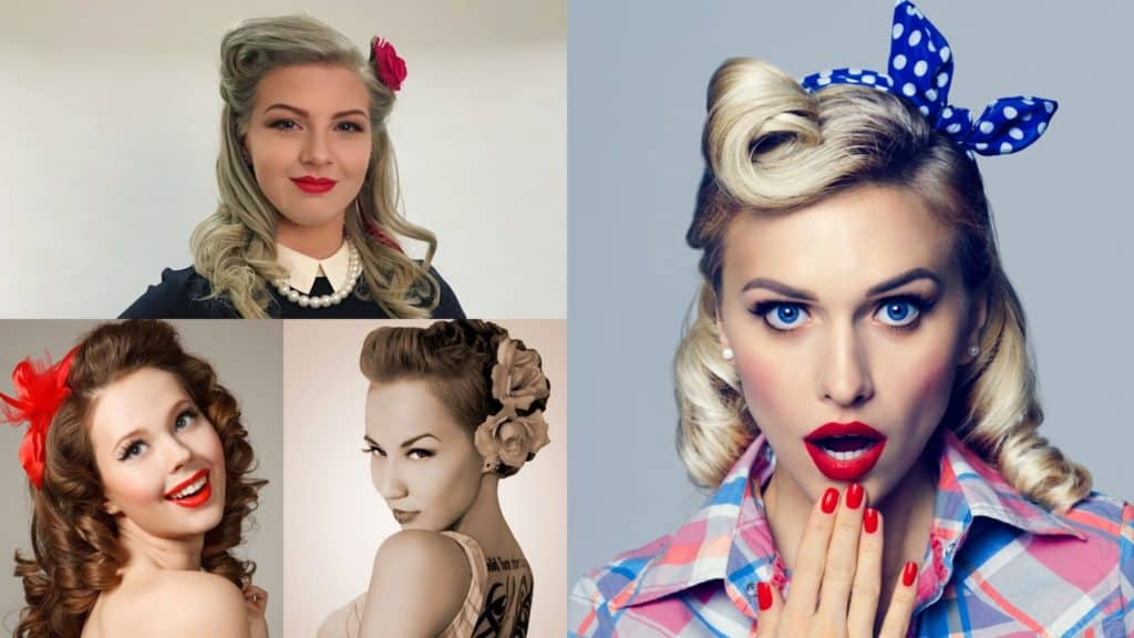 Hairstyles For An Ultimate Vintage Look