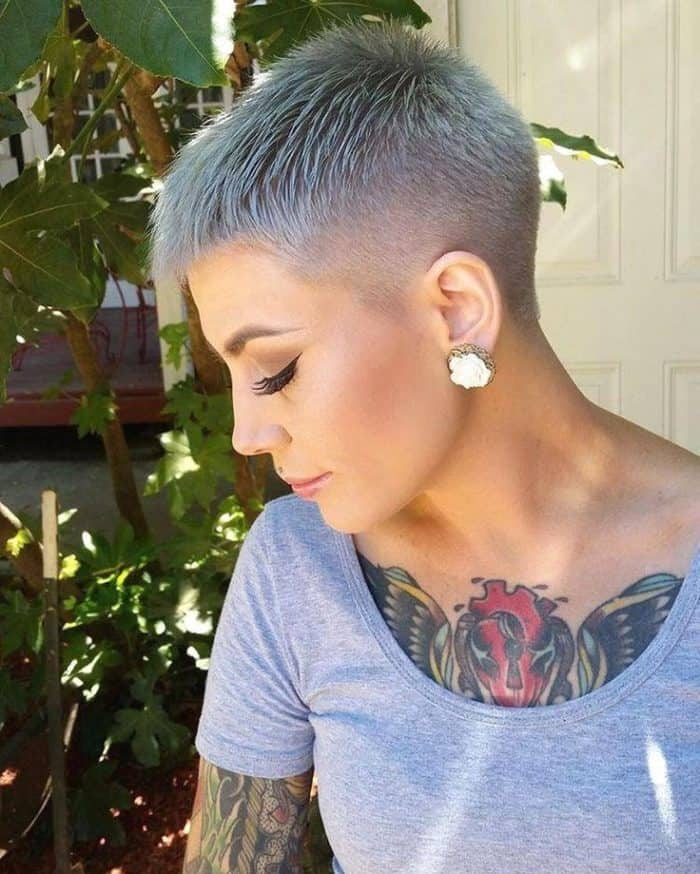 25 Trendiest Shaved Hairstyles for Women - Haircuts ...