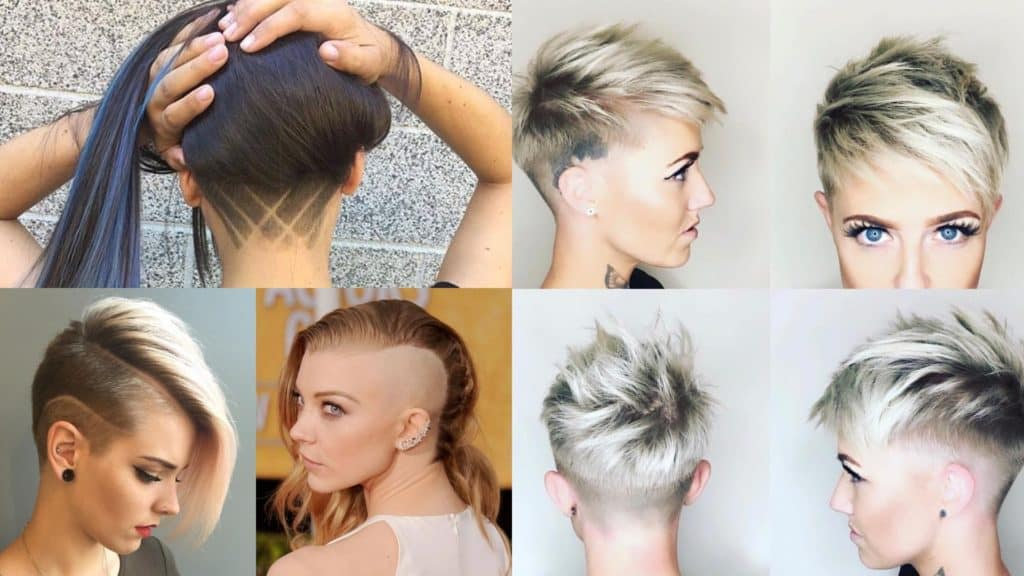 25 Trendiest Shaved Hairstyles for Women - Haircuts & Hairstyles 2020