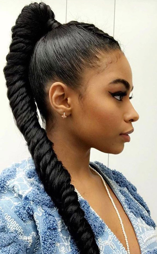 20 Cute and Charismatic Black Girl Hairstyles , Haircuts