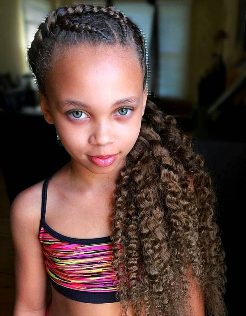 Cutie young black girl — pic 7