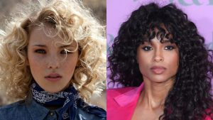 22 Urban Cool Curly Hairstyles with Bangs