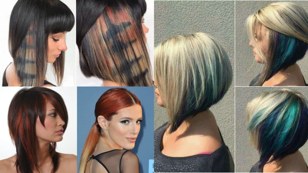20 Unique and Beautiful Peekaboo Hairstyles - Haircuts ...