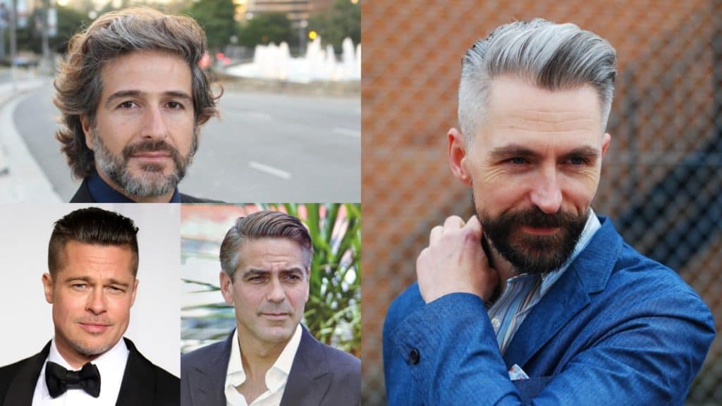 25 Mens Hairstyles Over 40 for Dapper Look