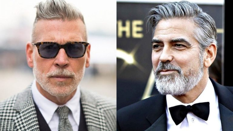 Grey Hairstyles for Men