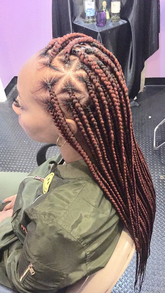 21 Cool and Trendy Knotless Box Braids Styles - Haircuts ...