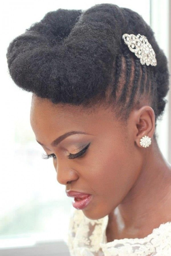 21 Most Beautiful Natural Hairstyles For Wedding Haircuts