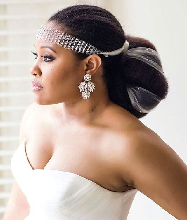 Ladies Hair Style Wedding: 21 Most Beautiful Natural Hairstyles For Wedding