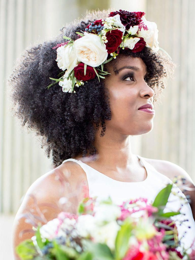 21 Most Beautiful Natural Hairstyles for Wedding - Haircuts & Hairstyles 2020