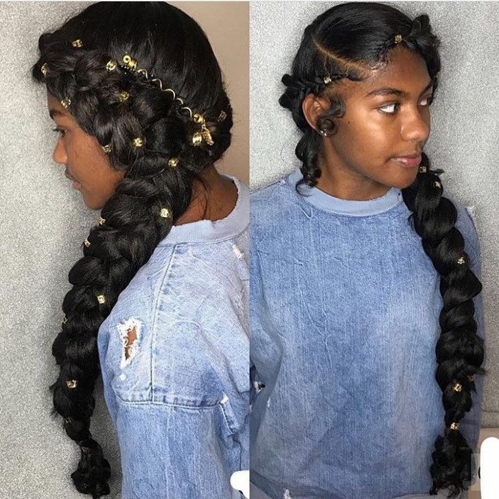 21 Most Stylish Prom Hairstyles for Black Girls , Haircuts