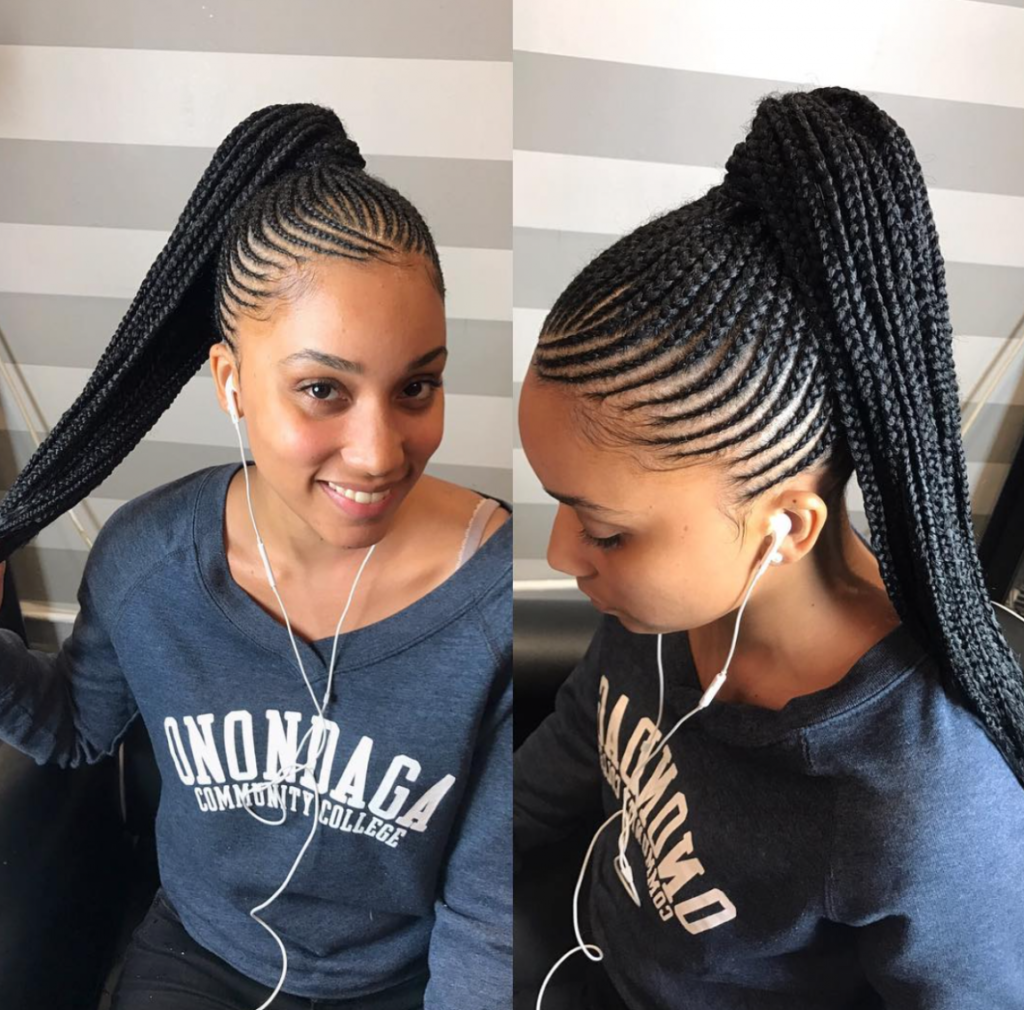 25 Stylish And Stunning African American Braids Haircuts