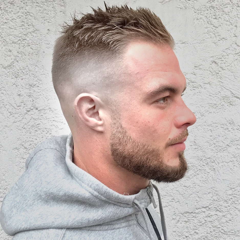 21 Most Dynamic And Dashing Crew Cut For Men Haircuts