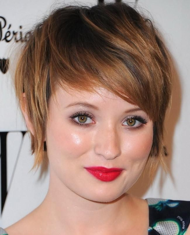 18 Most Ravishing Hairstyles For Double Chin Haircuts