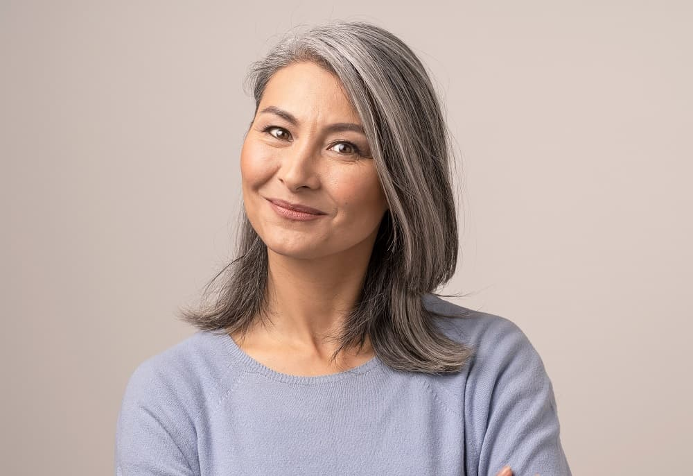 Grey Hairstyle Tips for Older Women - Chosse Suitable Haircut