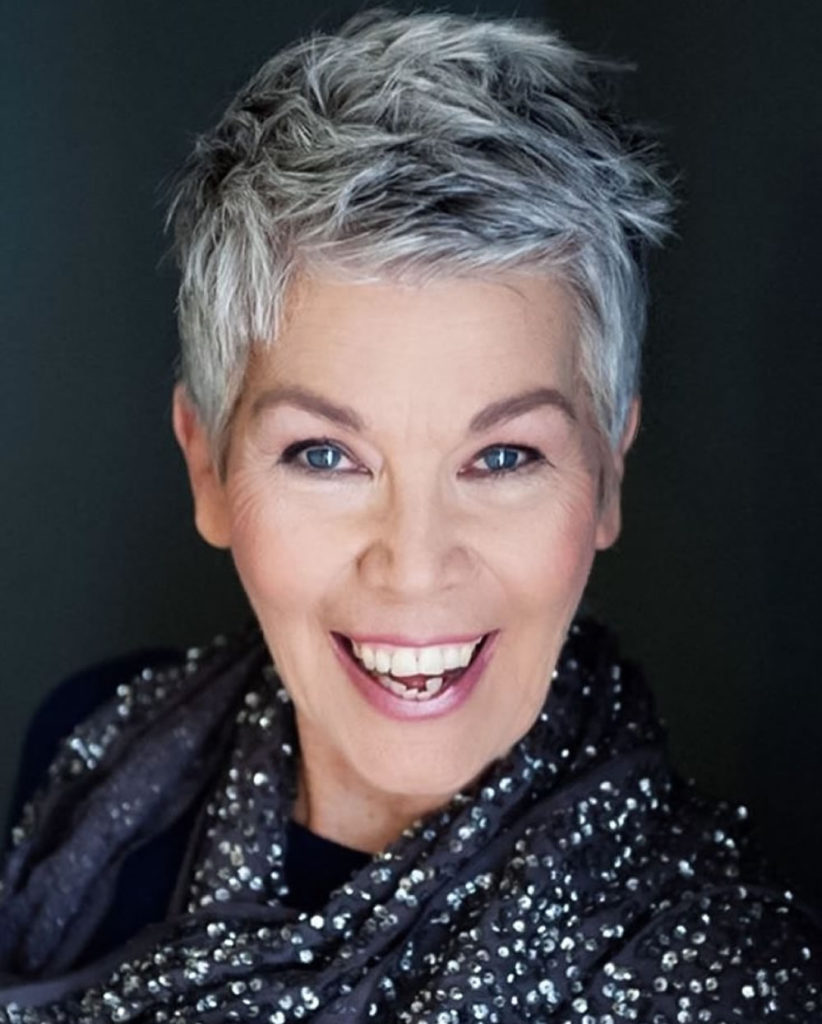 Grey Hairstyles for Older Women