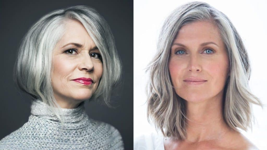 21 Glamorous Grey Hairstyles for Older Women - Haircuts ...