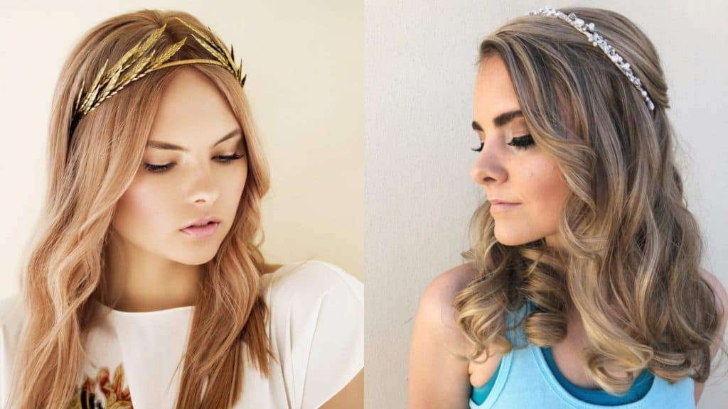 Hairstyles with Tiara
