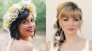 21 Most Beautiful Wedding Hairstyles with Bangs